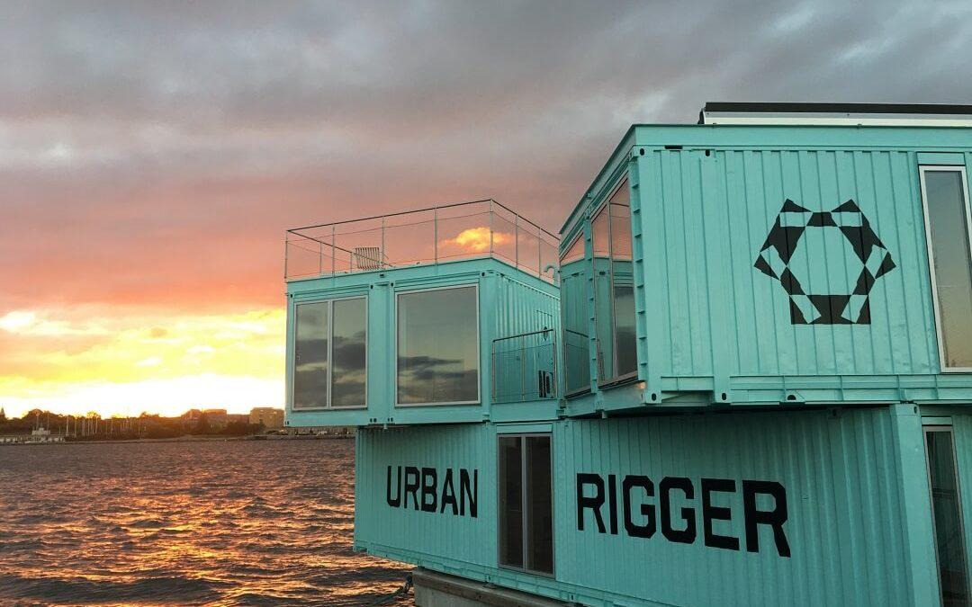 Urban Rigger, les appartements flottants durables au coeur de Copenhague