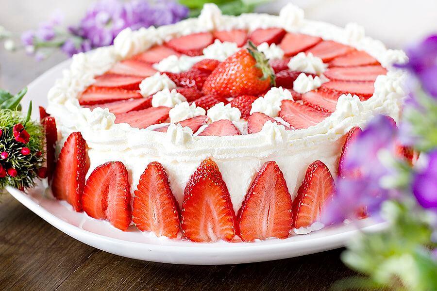 recette-gateau-scandinave-gateau-aux-fraises